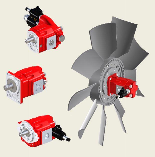 Bucher AMP212 HP External Gear Motor