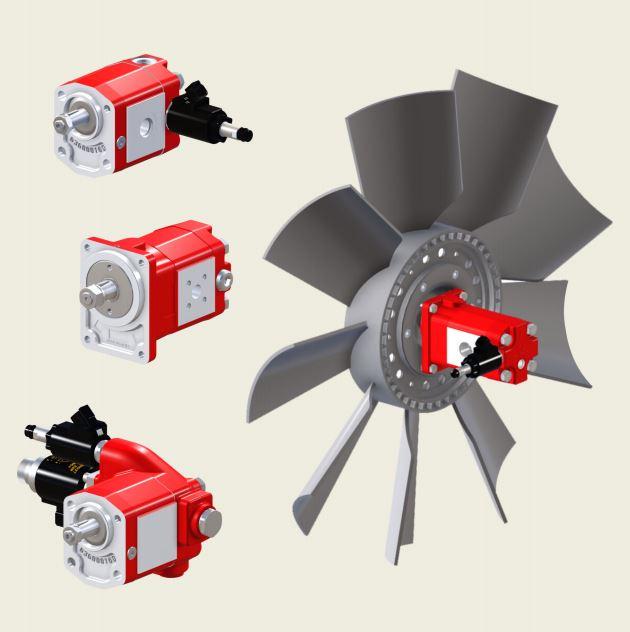 Bucher APM212 External Gear Motor