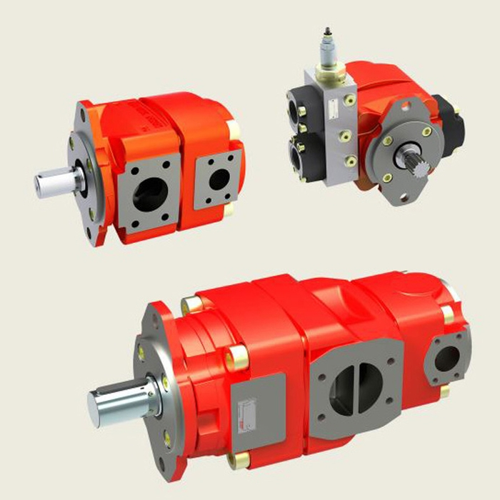 Bucher QX2 Fixed Displacement Gear Pump