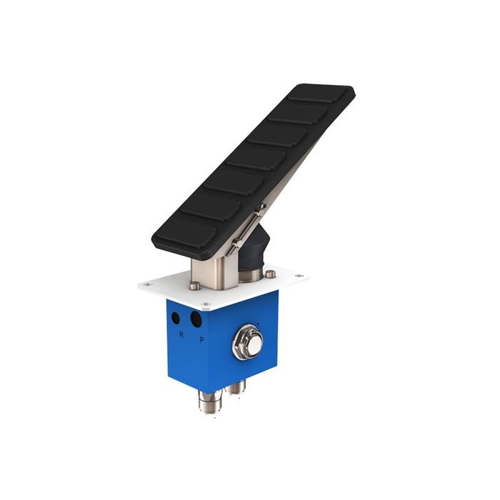 Poclain VB-220-6  Service Brake + Accumulator Charging Valves